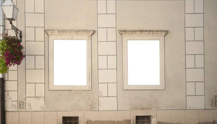 FRAMED WINDOWS