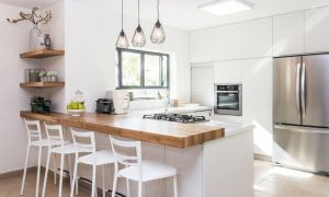 Install An Island Or Peninsula In The Kitchen