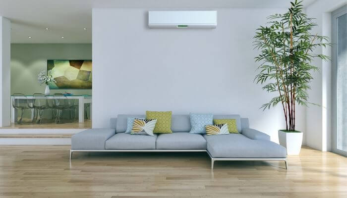 empty room Air Conditioning